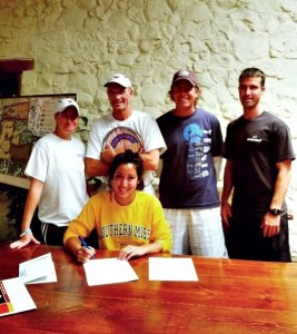 Newks Academy Player- Signs with Southern Miss